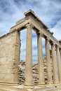 The Erechtheion (Acropolis of Athens) Royalty Free Stock Image