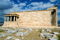 Erechtheion temple Acropolis in Athens Stock Images