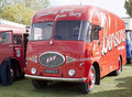 ERF Truck in Bensons Livery Stock Images