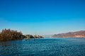 Erhai lake the landscape of yunnan china Royalty Free Stock Image