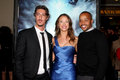 Eric Balfour, Donald Faison, Scottie Thompson Royaltyfri Fotografi