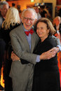 Eric kandel and his wife nobel prize winner at the film premiere of s documentary film in search of memory on june in Royalty Free Stock Image