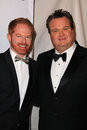 Eric stonestreet jesse tyler ferguson and at the writers guild awards renaissance hotel hollywood ca Royalty Free Stock Photo