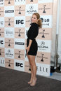 Erika christensen los angeles feb arrives at the film independent spirit awards at beach on february in santa monica ca Stock Photo