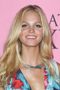 Erin Heatherton arrives at the Victoria's Secret What Is Sexy? Party Stock Photos