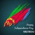 Eritrea Independence Day Patriotic Design.