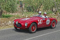 Ermini 1100 Sport Motto (1952) in Mille Miglia 2014 Royalty Free Stock Photo