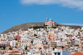 Ermoupolis, Syros island, Greece Royalty Free Stock Image