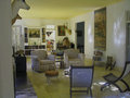 Ernest hemingway interior in house of cuba Stock Images