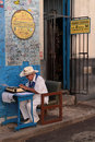 Ernest hemingway place near bodeguita havana cuba february del medio is a famous tourist destination because of the personalities Stock Photo