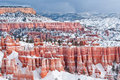 Eroded Cliffs Of Bryce Canyon National Park Stock Image