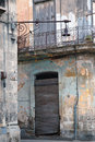 Eroded Havana building detail, cuba Royalty Free Stock Photo