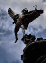 Eros Statue in Piccadilly Circus in London Stock Photos