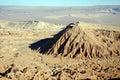 Erosion in the Atacama Desert Royalty Free Stock Photo