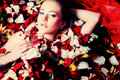 Erotic woman Royalty Free Stock Photo