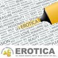 Erotica. Royalty Free Stock Photo