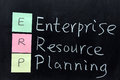 ERP, Enterprise Resource Planning Stock Image