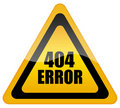 Error 404 Stock Photography