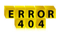 Error 404 illustration design Stock Photos