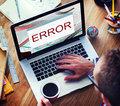 Error Disconnect Warning Failure AbEnd Concept Royalty Free Stock Photo