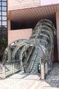 Escada rolante Imagem de Stock Royalty Free