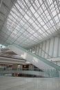 Escada rolante no shopping Imagens de Stock