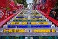 Escadaria Selaron, Rio de Janeiro, Brazil Royalty Free Stock Photo