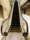 Escalator in department store Royalty Free Stock Photography