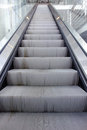 Escalator front view of an Stock Images