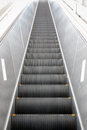 Escalator a very long in japan Stock Images