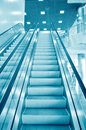 Escalator vision Royalty Free Stock Photos