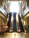 Escalators Royalty Free Stock Photo