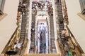 Escalators in Suria KLCC shopping mall