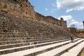 Escaleras en las ruinas de uxmal méxico Imagenes de archivo