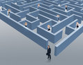 Escape from dire business situations