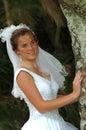 Esconder da noiva Imagens de Stock