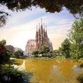 Espagne - Barcelone Royalty Free Stock Photo