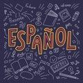 Espanol Royalty Free Stock Photo