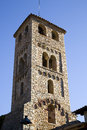 Espinelves church spain romanesque catalonia Stock Photos