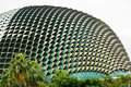 Esplanade concert hall in singapore Royalty Free Stock Photo