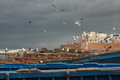 Essaouira coastal town in morocco Royalty Free Stock Images