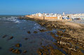 Essaouira medina view of of in morocco on the atlantic coast north africa the old part of town is the unesco world heritage sites Royalty Free Stock Image