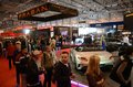 Essen motor show germany december visitors admire modern cars during in germany on december Royalty Free Stock Image