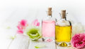 Essential aroma oil Royalty Free Stock Photo