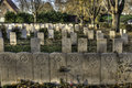 Essex Farm Cemetery Royalty Free Stock Photo