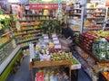 Essex street market in new york usa Stock Photography