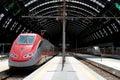 Estação de comboio da central de Milão Foto de Stock