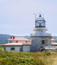 Estaca de Bares lighthouse Royalty Free Stock Images