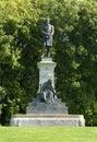 Estatua de presidente james garfield cerca del museo de de young en golden gate park Imagen de archivo libre de regalías