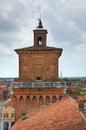 The este castle ferrara emilia romagna italy of Royalty Free Stock Photography